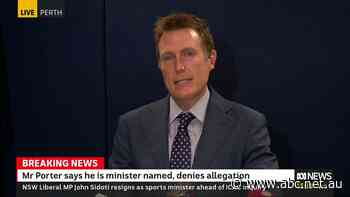Live: Christian Porter says he will not stand aside