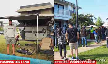 First home buyers flood back to market across Australia as house seekers camp out at new estates