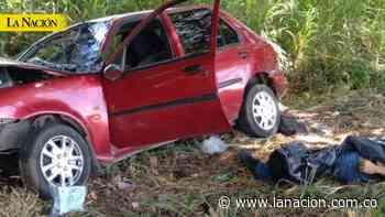 Un muerto y tres heridos en accidente vía Neiva-Campoalegre • La Nación - La Nación.com.co