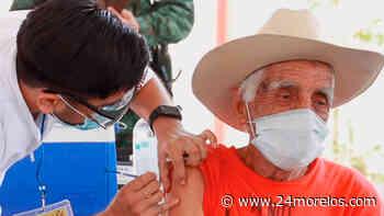 En Puente de Ixtla vacunaron a abuelitos de otros estados y municipios - 24 Morelos