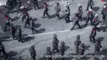 Nach Militärputsch: Neue Polizeigewalt bei Massenprotesten in Myanmar