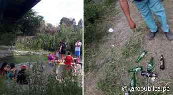 Chiclayo: decenas de personas abarrotaron ribera del río Reque este domingo LRND - LaRepública.pe