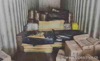 Cuatro toneladas de marihuana fueron incautadas en el municipio de Yotoco - El País