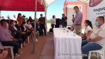 En El Palmito del Verde, le piden al Alcalde otras dos aulas en Telebachillerato, ya cambio, le pondrían su nombre - Noroeste