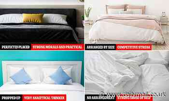 Psychologist reveals what your pillow arrangement says about your personality