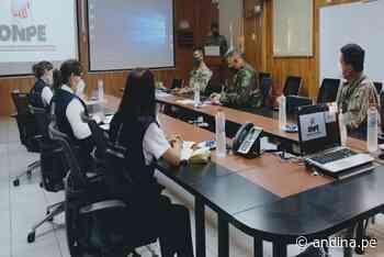ODPE Urubamba, Ejército y PNP coordinan traslado de material electoral al Vraem - Agencia Andina
