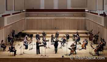 Gillam, Manchester Camerata, Kuusisto, Stoller Hall online review - calm and exhilaration - The Arts Desk