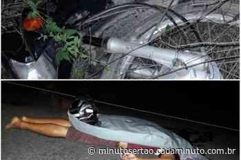Santana do Ipanema: Motociclista morre após ser arremessado em acidente envolvendo motocicletas - Cada Minuto