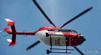 Motorradfahrer verletzt sich bei Unfall in Philippsburg schwer - BNN - Badische Neueste Nachrichten