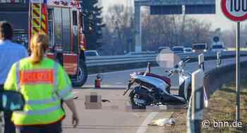 Rollerfahrer stirbt bei Unfall auf der B 33 bei Gengenbach - Fahndung nach blauem Sattelzug - BNN - Badische Neueste Nachrichten