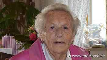 Eschenau Maria Gotthardt aus Eschenau feierte ihren 95. Geburtstag - Main-Post