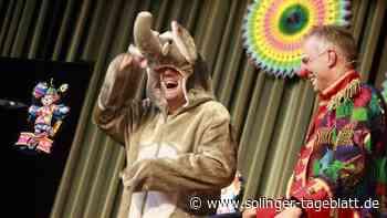 Quatschen, singen und über die Clowns Ötti und Ferdi lachen
