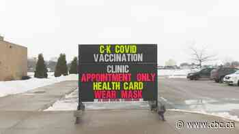 'Full steam ahead:' 6,000 people receive COVID-19 vaccine in Chatham-Kent