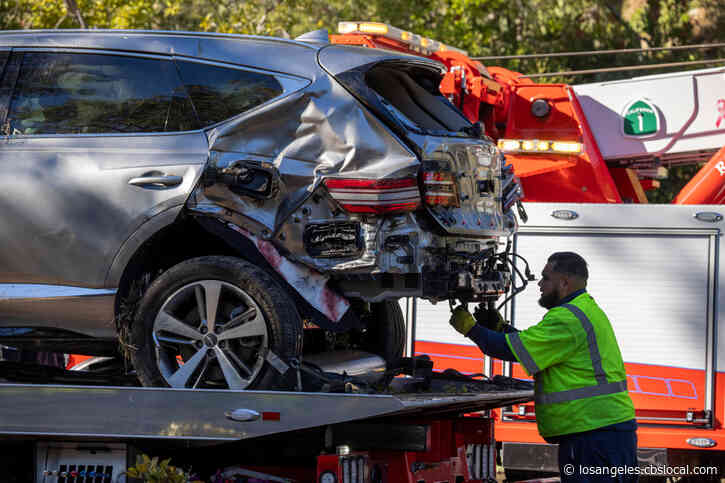 Search Warrant Executed To Obtain Black Box Data In Tiger Woods Crash