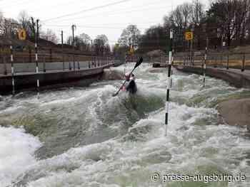 Freude bei den Sportlern: Sanierung des Augsburger Eiskanals abgeschlossen