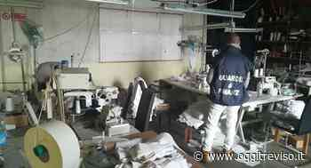 Castello di Godego, sequestrata un'intera fabbrica tessile, denunciato il titolare - Oggi Treviso