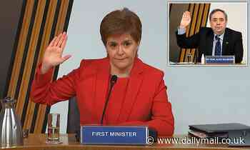 Nicola Sturgeon on brink as two witnesses BACK Alex Salmond version of events