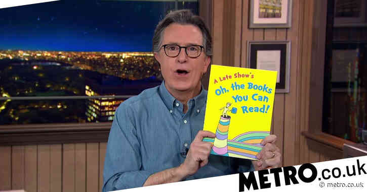Stephen Colbert praises decision to stop publication of six Dr Seuss books over racist undertones