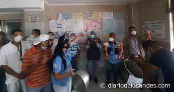 """Trabajadores de la salud del Hospital Central de San Cristóbal: """"Estamos comiendo puro hueso"""" - Diario de Los Andes"""