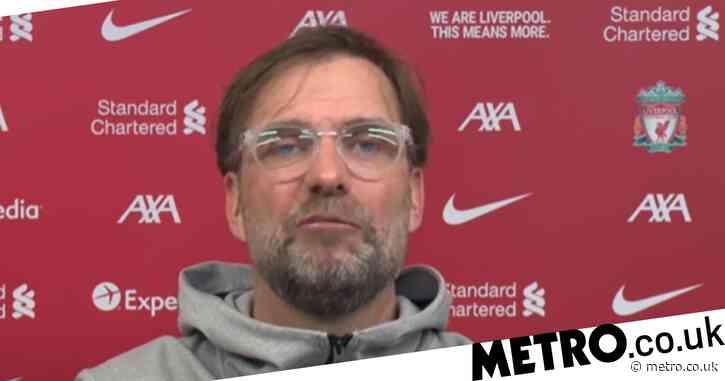 Jurgen Klopp rates Liverpool's chances of finishing above Manchester United