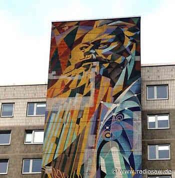 DDR-Wandbild in Halle wird saniert