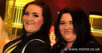 Twins shed 18st between them after ditching McDonald's and working out together