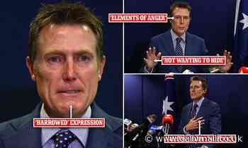 What Christian Porter's body language showed during rape denial