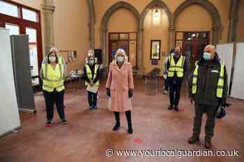 Duchess of Cornwall visits Thornton Heath vaccine hub