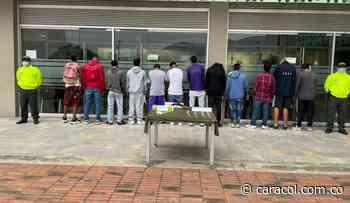 Le cayeron a una banda dedicada a la venta de drogas en Vijes, Valle - Caracol Radio
