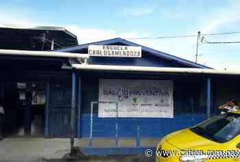Escuela Carlos A. Mendoza de San Miguelito lista para vacunación fase 2 - Crítica Panamá