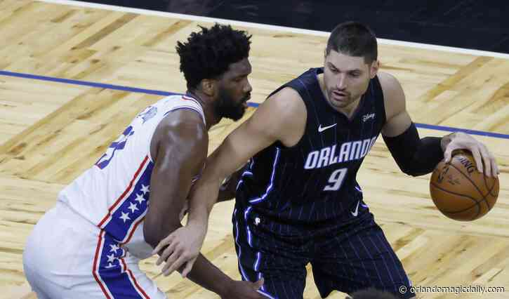 "The Orlando Magic's Nikola Vucevic puts the ""star"" in All-Star"