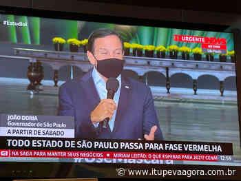 Confirmado! São Paulo inteiro vai para a Fase Vermelha - Itupeva Agora