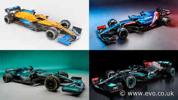2021 Formula 1 cars revealed – AMG Petronas, Alpine F1 and Aston Martin reveal new racers and liveries