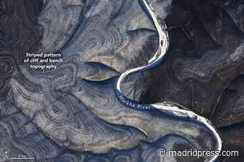 Observan desde el espacio unas misteriosas rayas en las colinas de Siberia - Madridpress.com