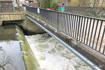 Münster: Schmelzwasser fördert die Schaumbildung auf der Werse