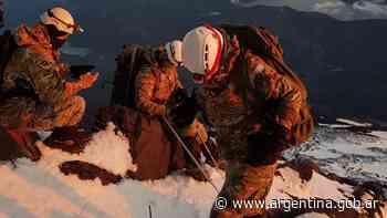 23 de febrero de 2021 Ascensión al volcán Lanín - Argentina.gob.ar Presidencia de la Nación