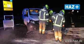 Unfall an Auffahrt zur A7 bei Laatzen: Autofahrerin auf der B443 leicht verletzt - Hannoversche Allgemeine