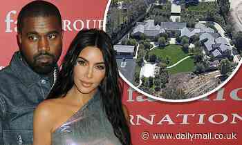 Kim Kardashian will be 'getting the $60 million Hidden Hills mansion' she shares with Kanye West