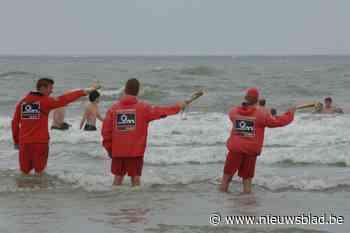 Strandredders duiken ten vroegste op 13 mei op