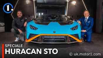 Lamborghini Huracán STO first look: See and hear the insane supercar