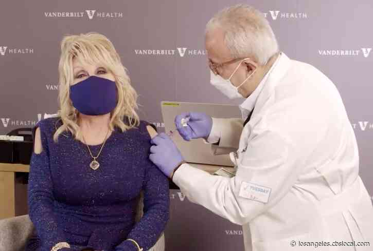 Dolly Parton Gets 'A Dose Of Her Own Medicine'; Receives COVID-19 Vaccine