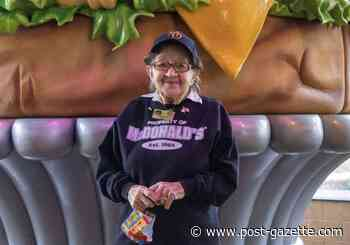 'Every day is a bonus day' for 100-year-old McDonald's worker