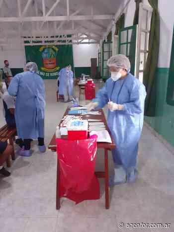 Testeos preventivos COVID en el Regimiento de Monte 29 - Agenfor
