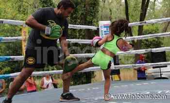 Hubo exhibición de boxeo y kick-boxing en el Monte de Los Fresnos - Infoeme
