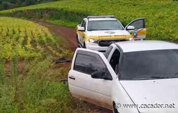 Segurança: Polícia de Lebon Régis recupera veículo furtado em Fraiburgo - Caçador Online