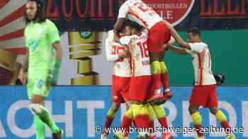 DFB-Pokal: Leipzig im Halbfinale - Poulsen und Hwang treffen gegen VfL