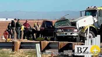 Verkehrsunglück: Horror-Unfall in Kalifornien: 13 Menschen sterben
