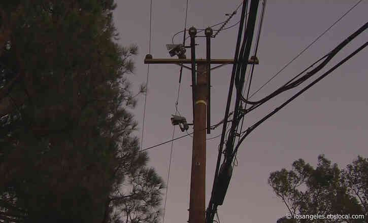 Power Restored On Westside After Fire At LADWP Facility Caused Outages To About 45K Customers
