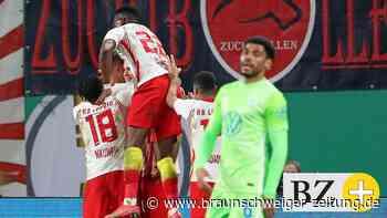 Wieder schmeißt Leipzig den VfL Wolfsburg raus