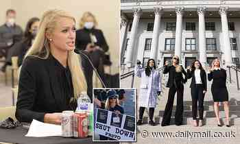Paris Hilton celebrates after bill she backed to regulate 'troubled teen' centers is passed in Utah